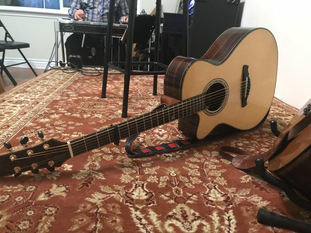 John Doyle's guitar.